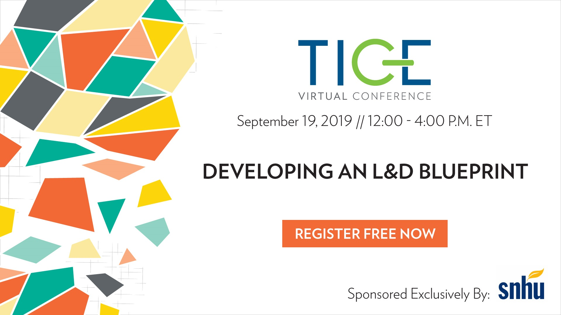 TICE Virtual Conference: Developing an L&D Blueprint
