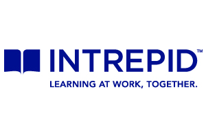 logo: Intrepid | Learning at Work, Together