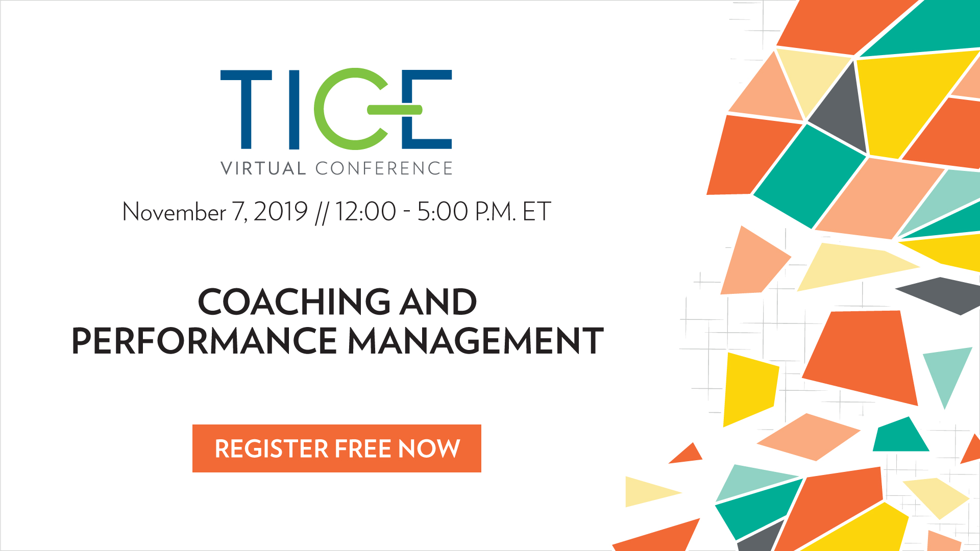 TICE Virtual Conference: Coaching and Performance Management