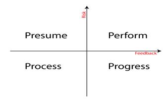 Risk-feedback model